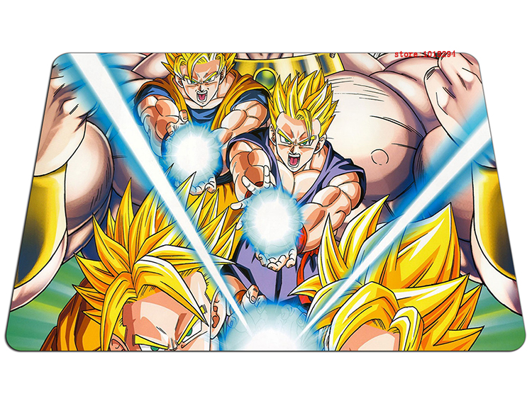 Dragon Ball mouse pad Ssj fighting mousepad laptop Dragon Ball Z mouse pad gear notbook computer anime gaming mouse pad gamer