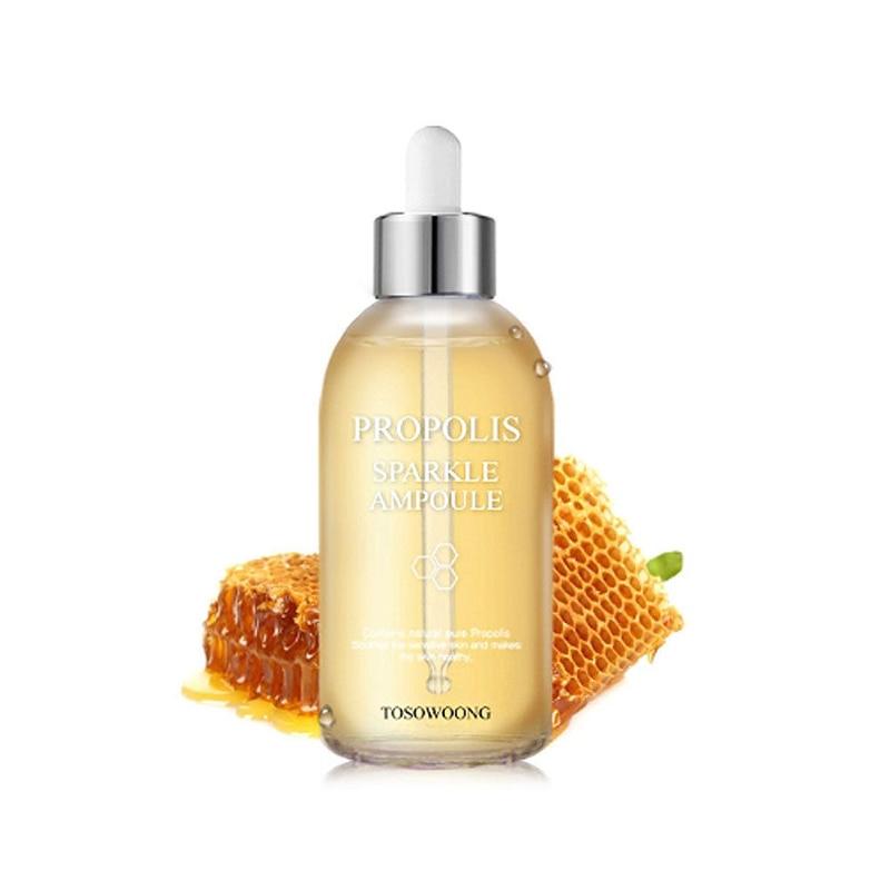 TOSOWOONG Propolis Sparkle Ampoule 100ml Face Essence Cream Serum Face Care Skin Treatment 80% Propolis Korea Cosmetics