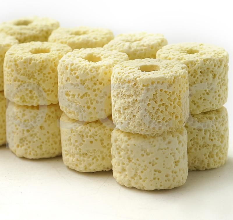 Бактериальный дом, био пористые керамические кольца, био-шарики, фильтрующая среда с сетчатым мешком для аквариума, канистра, фильтр для пру...