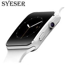 SYESER S6 Smart Watch Smartwatch Android Phone Call Relogio 2G GSM SIM TF Card Camera for iPhone Samsung HUAWEI PK GT08 A1 DZ09