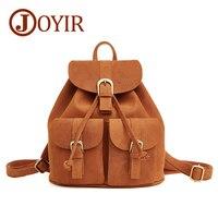 JJOYIR Luxury Women Backpacks Genuine Leather Women Bag Cow Leather Lady Backpacks Retro Travel Backpacks Sweet