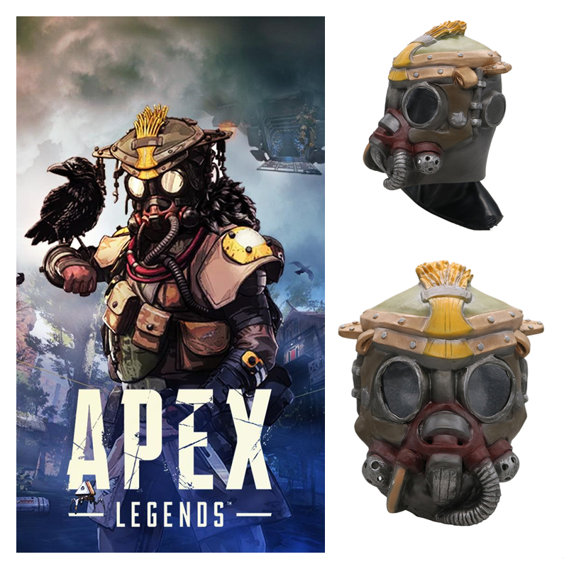 Game Apex legends BLOODHOUND Cosplay Masks Kids Adult Superhero Full Head Helmet Latex Mask Party Halloween Bar Cosplay Prop New