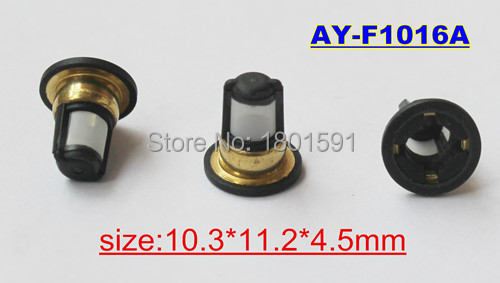 100pieces wholesale auto part fuel injector filter for N issan nozzle AY-F1016A new carburetor for n issan z20 gazelle silvia datsun pick up ca