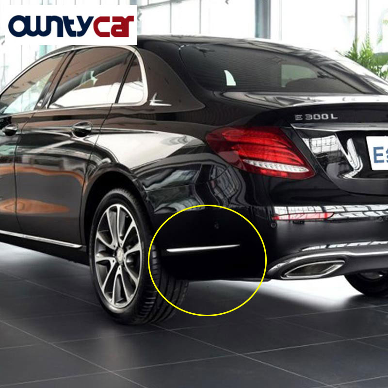 Buy abs side molding decorative strips for Mercedes benz e350 aftermarket parts