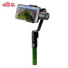 Wonew W3 Bluetooth 4.0 3 оси ручной смартфон устойчивый Gimbal стабилизатор для смартфонов iPhone 6 плюс 7 Samsung