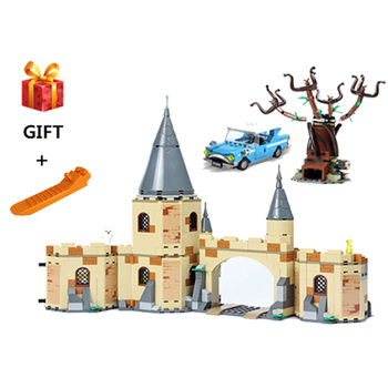 2020 new Whomping Willow Building Blocks Brick Toys for Children Compatible with lepining Harri 75953