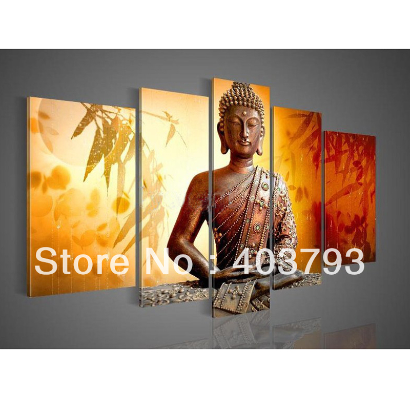 free shipping Hand painted Hi Q wall art home oil painting on canvas ...