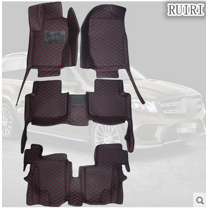 High quality! Special floor mats for Mercedes Benz GL 320 X164 7 seats 2011-2006 waterproof carpets for GL320 2009,Free shipping