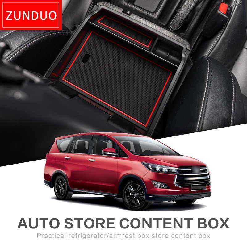 Accoudoir Boîte De Rangement Organisateur De Voiture Accessoires pour Toyota Innova AN140 2015 ~ 2019 140 2016 ~ 2018 Kijang Innova Crysta Ranger
