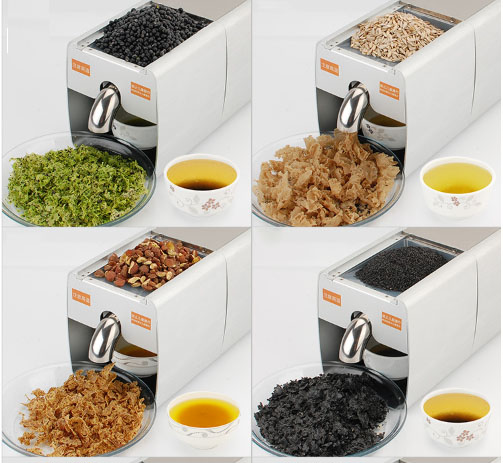 Hardware intelligent automatic small household oil Press multifunctional peanut No baking cold Bean seeds and sesame seeds came