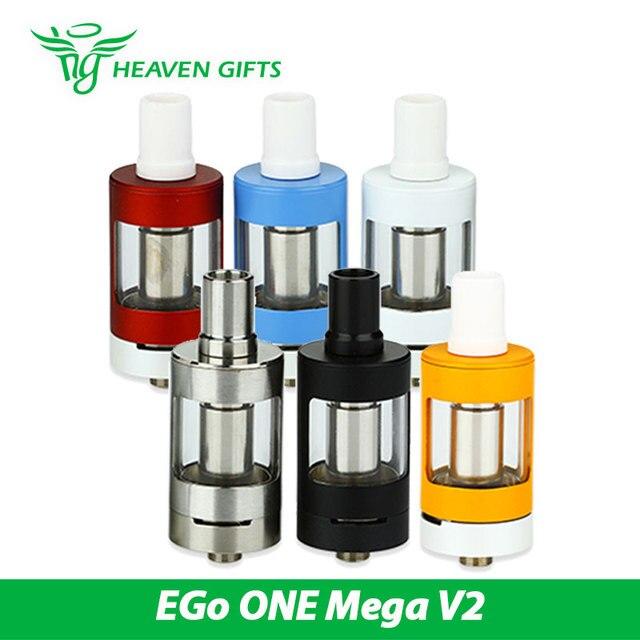 100% original joyetech ego one mega v2 atomizador 4 ml capacidade do tanque apto para Ego um mega V2 Starter kit 4 ml de suco E-Capacidade