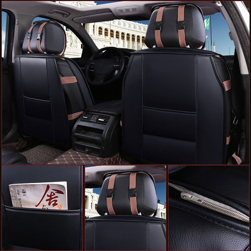 New Car seat cover covers Universal auto cushion protector accessories for volkswagen vw cc sedan sagitar santana volante caddy