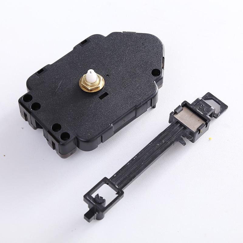 Reloj de pared de cuarzo Mecanismo de movimiento Reparación de bricolaje Juego de piezas de repuesto Reloj grande Movimiento de péndulo Mecanismo Accesorios P6188