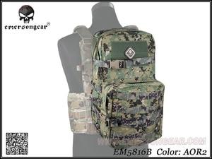 Image 3 - Equipo militar del ejército EMERSON, mochila de juego de guerra de senderismo, mochila de asalto Modular con bolsa de hidratación de 3L EM5816