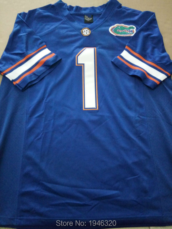 cheap for discount ed7ad 2440a Custom Cheap Stitched Florida Gators #1 Vernon Hargreaves ...