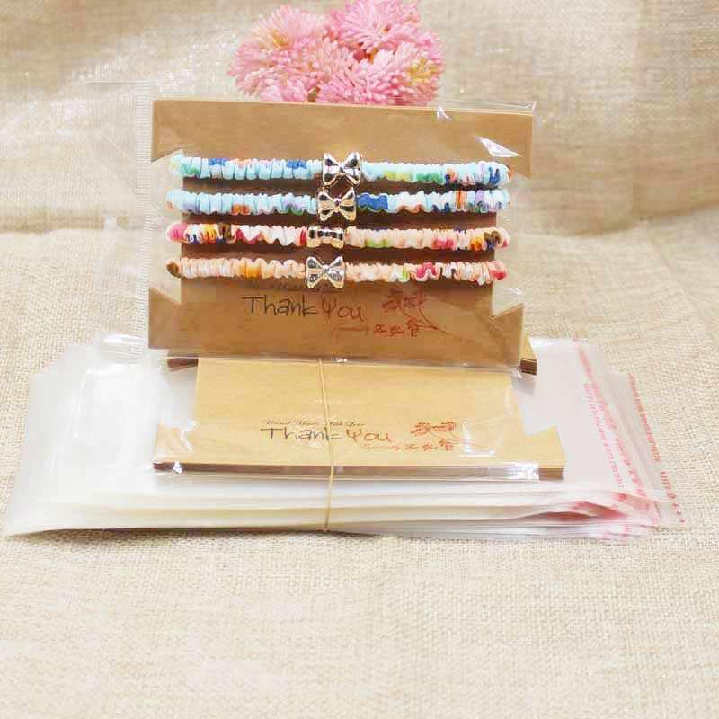 Zerong dei monili di carta di carta di Monili di cartone pacchetto di Carte, collana/Orecchino/Hairclip/Pendente imballaggio card100pcs + 100 oppbag/lot