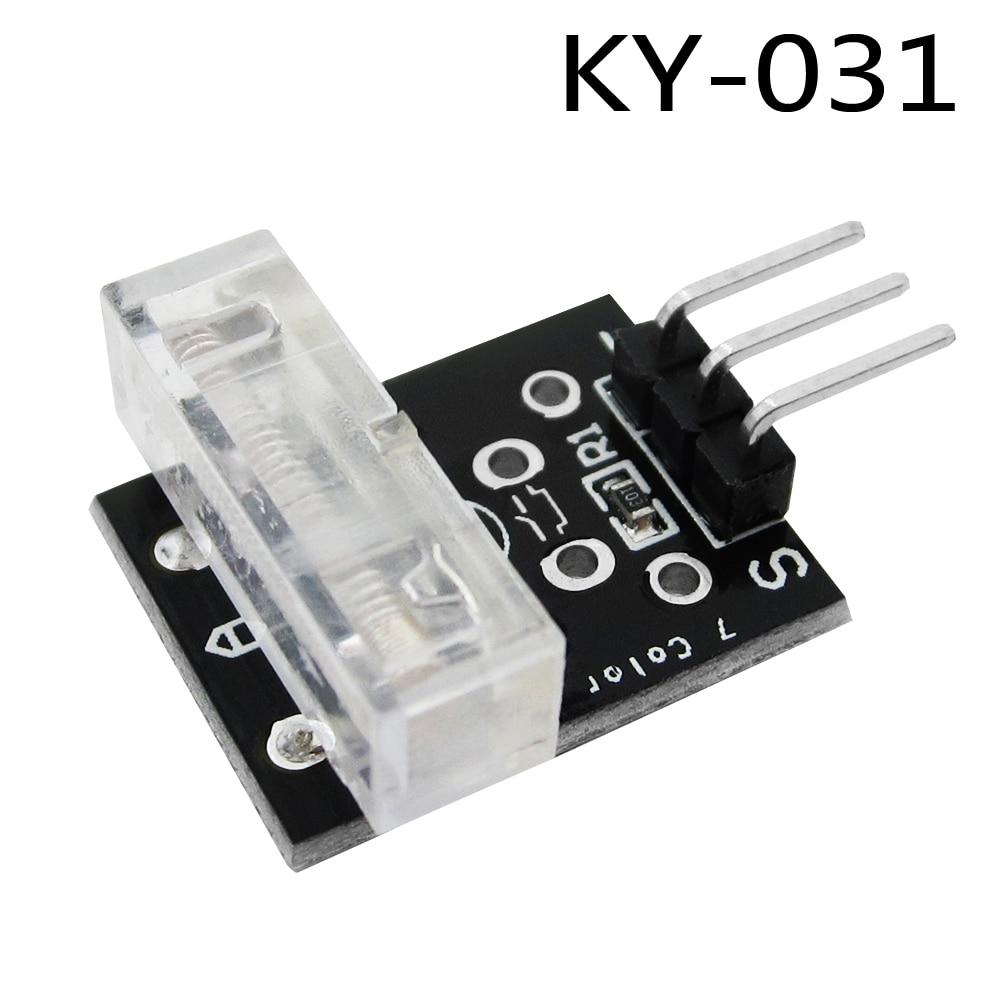 Smart Electronics 3pin КИЗ Перкуссия KY-031 Стучится Knock Модуля Датчика для Arduino Diy Starter Kit KY031 Бесплатная Доставка