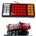 Car Styling 24V 36 LED  Rear Turn Signal Truck Trailer Stop Rear Tail Lights Indicator Lamp Caravan Lorry Car Van External Light