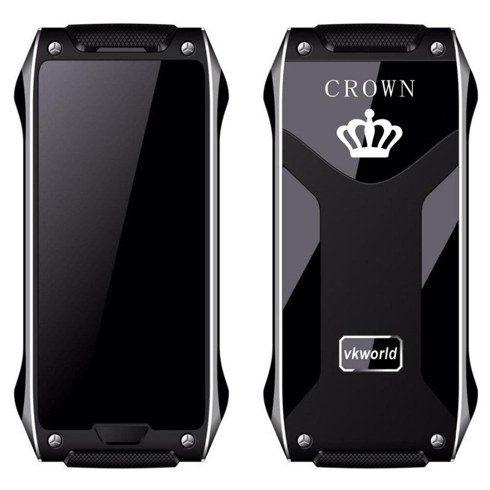VKWorld Crown V8 Phone 1 63 inch OLED Screen CPU SC6531D Dual SIM 2G Network Cellphone