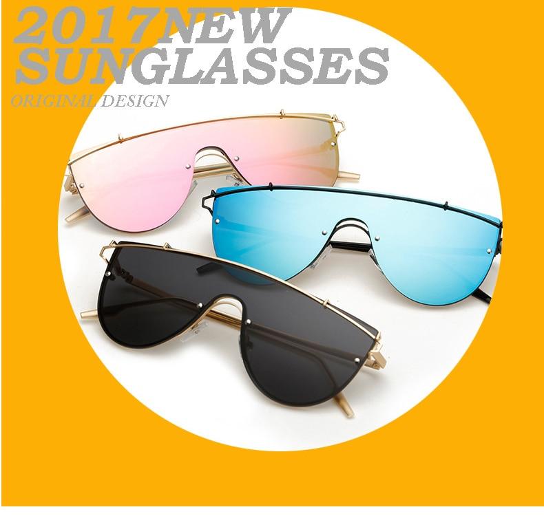 Modne luksuzne ženske dizajnerske sunčane naočale UV400 ogledalo - Pribor za odjeću - Foto 5