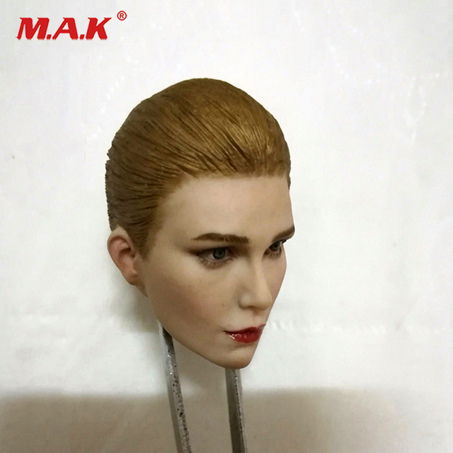 1 6 Scale Sharon Stone Woman Head Female Head Carving Beauty Head Sculpt  For 12