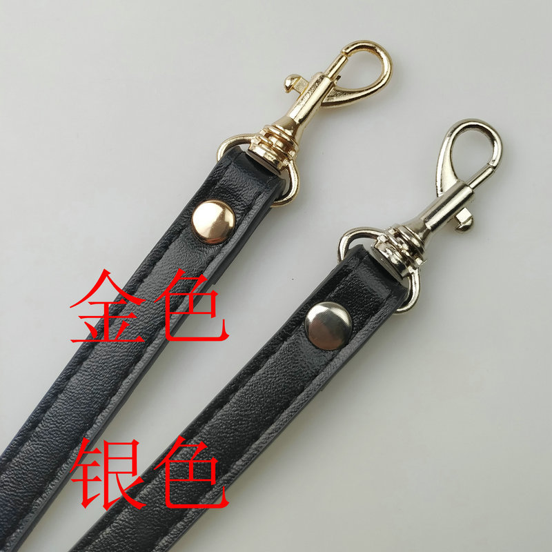 Detachable Handle Replacement Bags Strap Women Girls PU Leather Shoulder Bag Parts Accessories Buckle Belts for DIY accessories