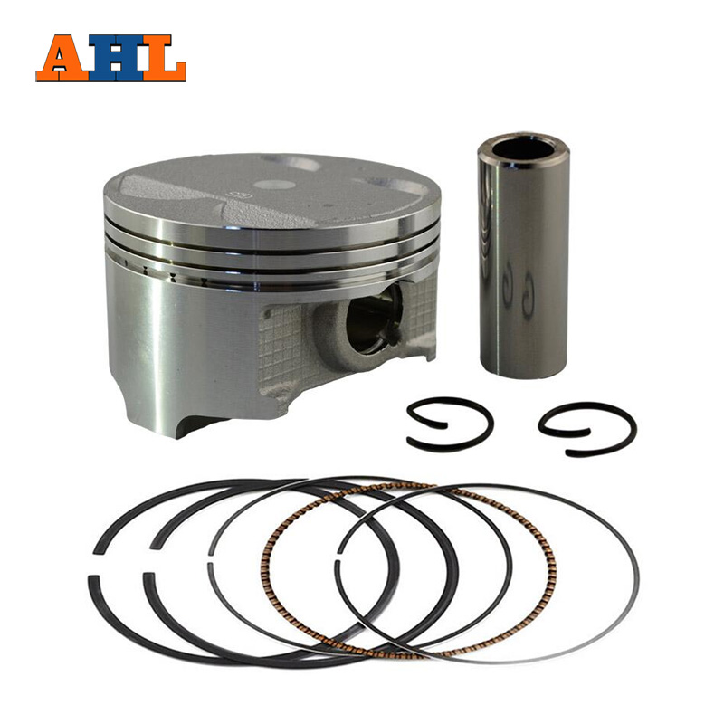 AHL Bore Size 83mm Motorcycle Piston & Ring for Suzuki DR350 DR 350 Piston Kit  4mm Overbore 1990-1999 changchai 4l68 engine parts the set of piston piston rings piston pins