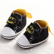 Superman First Walkers Kids Girls Boys Batman Shoes