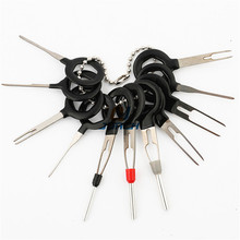 11pcs Auto Terminal Removal Tool Car Plug  Wire Harness Extraction Pick Connector Crimp Pin Back Needle Remove Set