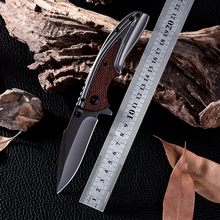 Hot Sale! Wood handle Cold Steel Camping Folding Blade Tactical Knives High Quality Outdoor Survival Hunting Knife Zakmes