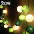 Decoración de navidad al aire libre luces de navidad luminarias decoración del hogar, luces de la secuencia garland, AC110V/220 V con 20 unids bulbo de la bola