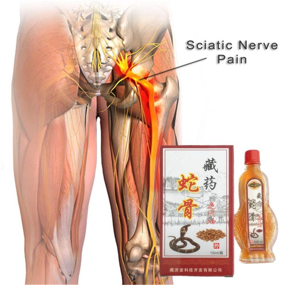 DISAAR 15ml/bottle King Cobra Venom Sciatica Pain Relief Relieving Hyperosteogeny Treatment Essential Oil 15ml