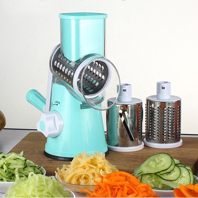 Multifunctional มือชีสผัก Shredder อุปกรณ์กลอง-ประเภทอุปกรณ์ครัวผักเครื่องตัดอาหาร
