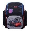 Delune 2019 3D автомобиль шаблон школьные ранцы для мальчиков и девочек мультфильм Рюкзак Детские ортопедические рюкзаки Сова ранец Mochila Infantil