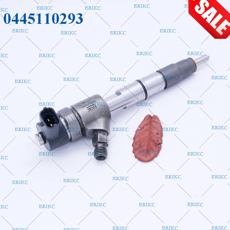 ERIKC 0445110293 Diesel Fuel Injector Nozzle Spray Gun CR Excavator Inyector 0445 110 293 / 0 445 110 293 for GREATWALL Hover H5 erikc 0445110347 injector nozzle diesel fuel injector 0445 110 347 common rail injection 0 445 110 347 for 4d22e41000