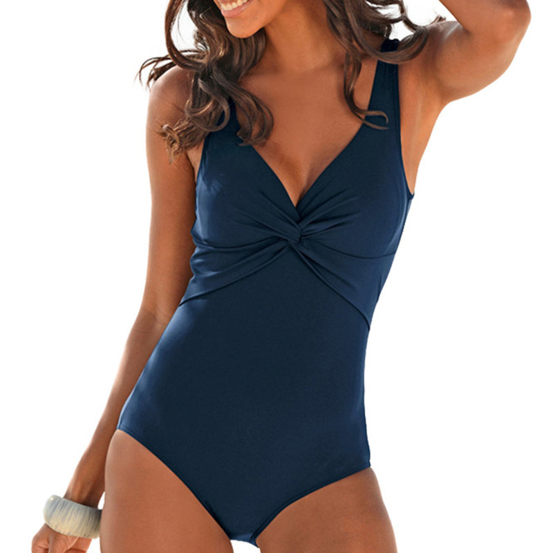 Sexy One Piece Swimsuit Closed Large Size Women Push Up Swimwear For The Pool Body Beach Sports Bathing Suit 2021 Swim Wear