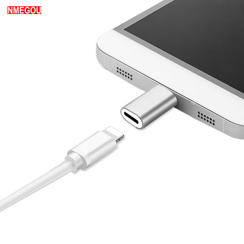 For IPhone X XR XS Max 8 7 6 6S Plus 5S 8 Pin To Type-c Usb C Adapter For Samsung S8 S9 Note 8 9 Le Eco Typec Charger Converter