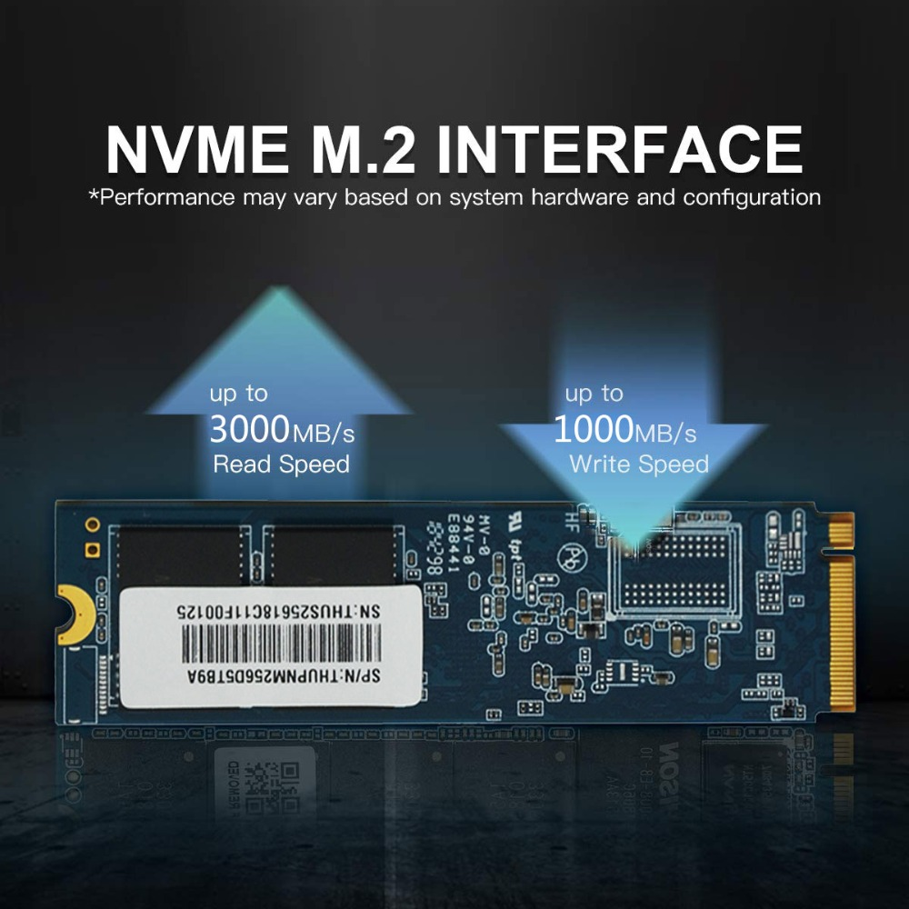Laptop NVME SSD M.2 2280  Professional SSD 256GB 512GB 3D NAND PCIe NVMe Gen3 x 4 Internal Solid State Drive for Notebook-in Internal Solid State Drives from Computer & Office    3