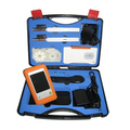 Envío rápido Vía DHL Compruebe y Kits De Limpieza FCK100 Sonda de Inspección de Fibra Óptica De Fibra Microscopio Video Cleaner Pen Limpiador de Caja