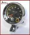 """3.75"""" TACHOMETER RPM AUTO GAUGE CARBON FIBER FACE"""