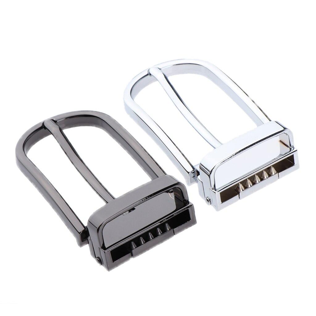 Belt Buckles For Men DIY Metal Heavy Duty Hand Bag Shoe Strap Belt Web Adjust Roller Pin Buckle For Belt 28-29mm