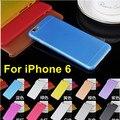 Caso de telefone 0.3mm Ultra Slim Fina e Macia TPU Matte Transparente Voltar Caso capa Para o iphone 6 6 S 4.7 polegada Ultrafinos TPU telefone caso