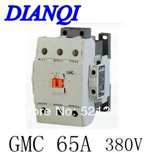 CONTACTOR AC GMC GMC-65 65a 380v 50/60hz high quality цена и фото