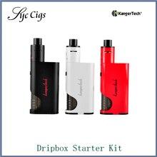 100%เดิมKangerTech Dripboxชุดบุหรี่อิเล็กทรอนิกส์Kanger DripMod 60วัตต์สมัยVapeกับSubdrip RDAบุหรี่อิเล็กทรอนิกส์เครื่องฉีดน้ำ