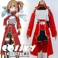 Free Shipping  Sword Art Online SAO Cosplay Keiko Ayano/Silica  cosplay costume