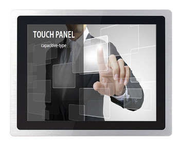 8 inch lcd industrial monitor with VGA,DVI