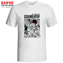 Falling Angel T Shirt Style Battle Alita Gunnm Gun Dream Hip Hop Funny T-shirt Rock Anime Fashion Unisex Men Women Top Tee