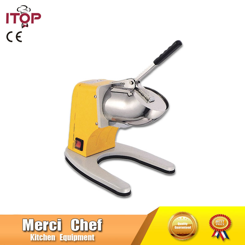 Hot sale Food Machine Stainless Steel Electric Ice Shaver Manual Ice Crusher Machine Snow Cone Maker with CE Household fast food leisure fast food equipment stainless steel gas fryer 3l spanish churro maker machine