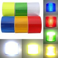 5 Colors 5x300cm Reflective Car Styling Car Truck Motorcycle Insurance Tape Warning Tape Material Safety Quality