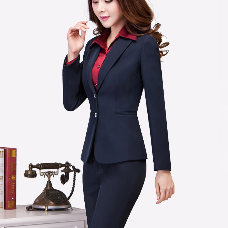 Aliexpress.com : Buy Work wear women's pants suit autumn winter